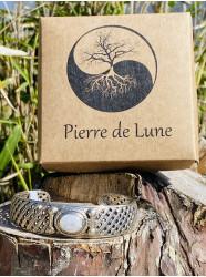"""Bracelet en argent massif """"..."""