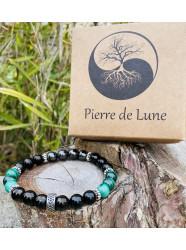 """Bracelet pierres """" Les..."""