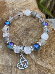 """Bracelet """" Perles d'eau """""""