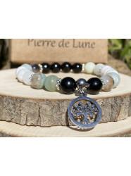 """Bracelet pierres """" Dès..."""