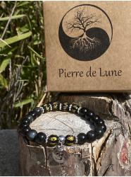 """Bracelet pierres """" Les six..."""