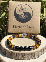 "Bracelet pierres "" Tigre..."