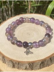 """Bracelet pierres """" Fluorite..."""