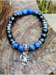 "Bracelet "" Scorpion Bleu """
