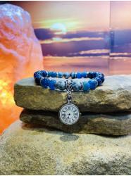 """Bracelet """" Les heures bleues """""""