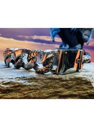 """Bracelet acier """" Iron Snake """""""