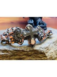 "Bracelet acier "" Christian..."