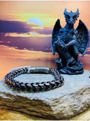 "Bracelet acier "" Iron antic """