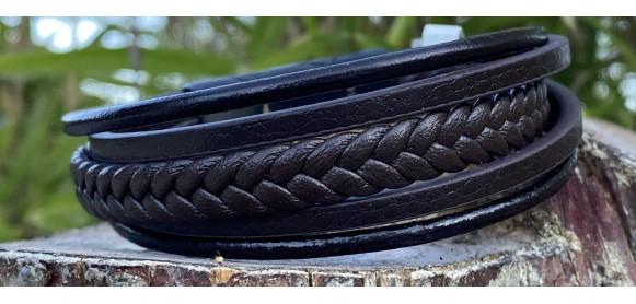 Nos bracelets en cuir