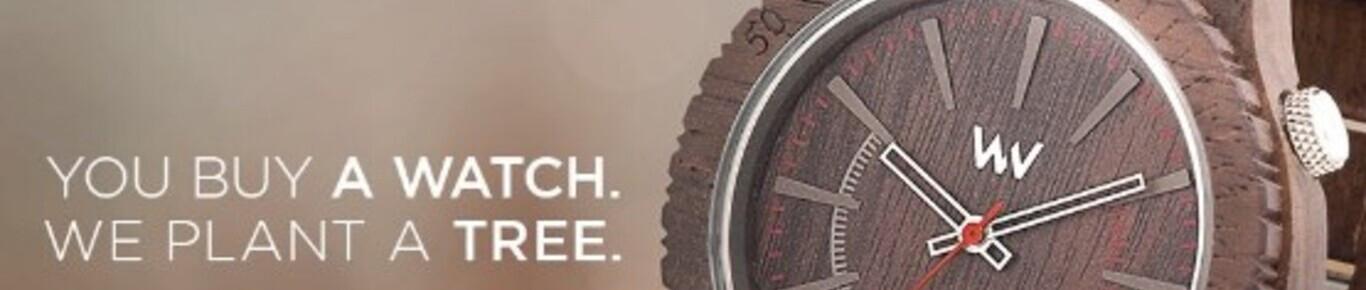 Acheter une montre en bois pour homme.