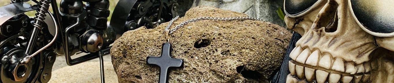 Bijoux en métal pour homme fabriqué en France